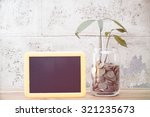 save money concept  | Shutterstock . vector #321235673