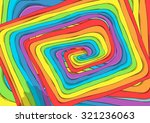 route of rainbow background ... | Shutterstock .eps vector #321236063