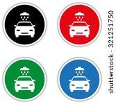 car wash   vector icon | Shutterstock .eps vector #321251750