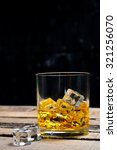 scotch on wooden background... | Shutterstock . vector #321256070