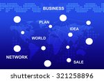 abstract blue background with... | Shutterstock . vector #321258896