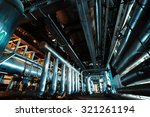 industrial zone  steel... | Shutterstock . vector #321261194