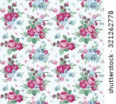 vintage floral background  ... | Shutterstock . vector #321262778