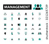 management  human resources... | Shutterstock .eps vector #321265739