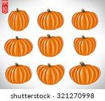 pumpkin | Shutterstock .eps vector #321270998