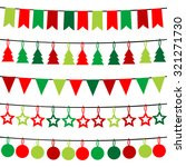 christmas buntings   Shutterstock . vector #321271730