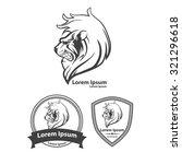lion for logo  american... | Shutterstock .eps vector #321296618