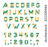 vector alphabet set fun... | Shutterstock .eps vector #321330464