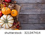 Pumpkins  Nuts  Indian Corn An...