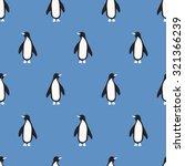 Seamless Pattern  Penguin Art ...