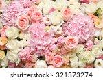 flowers background | Shutterstock . vector #321373274
