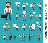business concept idea... | Shutterstock .eps vector #321374870