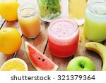 fruit smoothie | Shutterstock . vector #321379364