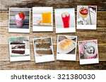 collage of photos many foods in ...   Shutterstock . vector #321380030