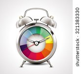 alarm clock   time management | Shutterstock .eps vector #321383330