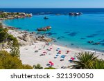 beautiful day in camps bay in... | Shutterstock . vector #321390050