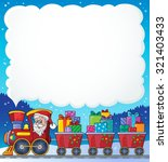 christmas train theme image 6   ... | Shutterstock .eps vector #321403433
