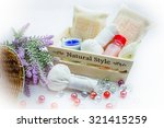 spa and massage  healthy and... | Shutterstock . vector #321415259