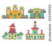 fairy house  shoe store  store... | Shutterstock .eps vector #321439010