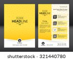brochure template design.... | Shutterstock .eps vector #321440780