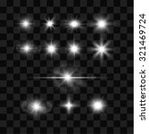 vector sparkles  star bursts... | Shutterstock .eps vector #321469724