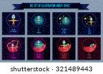 space vector illustration in... | Shutterstock .eps vector #321489443