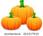 cartoon pumpkin | Shutterstock .eps vector #321517913