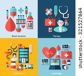 medical vector infographics.... | Shutterstock .eps vector #321527864