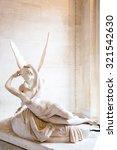 paris   june 23  cupid statue... | Shutterstock . vector #321542630