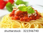 Detail Of Spaghetti With Tomat...