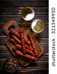 sausages with beer   Shutterstock . vector #321549950