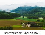 Mountain Landscape With Arable...