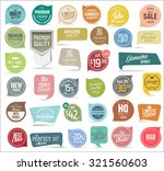 premium  quality modern labels... | Shutterstock .eps vector #321560603