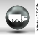 military truck icon vector... | Shutterstock .eps vector #321563594