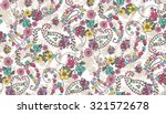 seamless paisley background... | Shutterstock .eps vector #321572678