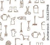 seamless backgound with cartoon ... | Shutterstock .eps vector #321623948