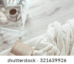 still life details  cup of tea... | Shutterstock . vector #321639926
