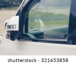 side rear view mirror closed... | Shutterstock . vector #321653858