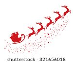 vector illustration of flying... | Shutterstock .eps vector #321656018