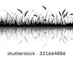 vector grass | Shutterstock .eps vector #321664886