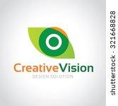 Creative Vision Eye Logo Focus...