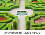 Foreground Of The Garden Of Th...