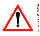 france warning sign | Shutterstock .eps vector #321687944