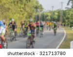 blurry asian cycling race for... | Shutterstock . vector #321713780