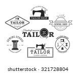 Set Of Vintage Tailor Labels ...