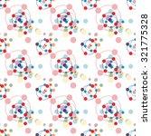 circles seamless background | Shutterstock .eps vector #321775328