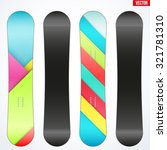 snowboard sample symbols for... | Shutterstock .eps vector #321781310