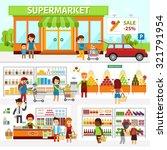 Supermarket Infographic...