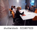 business people group with... | Shutterstock . vector #321807323