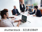 business people group with... | Shutterstock . vector #321810869